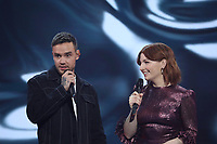 Liam Payne with host Alice Levine during the BRIT Awards 2020 - The BRITs Are Coming, The Riverside Studios, London, UK, Sunday 08 December 2019<br /> Photo JM Enternational