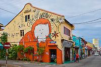 Malaisie, état de Malacca, Malacca, Centre historique, patrimoine Mondial de l'Unesco, Chinatown, peinture murale // Malaysia, Malacca state, Malacca, Unesco Wold Heritage, Chinatown, wall painting