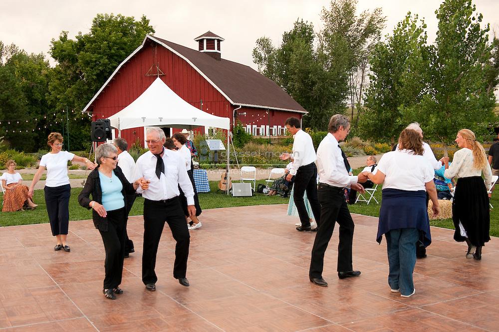 Denver Botanic Gardens at Chatfield   dancing at august moon