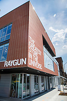 Raygun store in the East Village neighborhood of Des Moines, Iowa, on April 17, 2015.