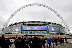 A general view of Wembley Stadium - Mandatory by-line: Matt McNulty/JMP - 26/02/2017 - FOOTBALL - Wembley Stadium - London, England - Manchester United v Southampton - EFL Cup Final