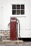 Very old petrol pump Bird in Hand, PA