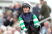 Jockey Hollie Doyle at  the York Dante Meeting at York Racecourse, York, United Kingdom on 16 May 2018. Picture by Mick Atkins.