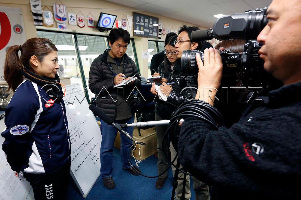 Miyo ICHIKAWA, Japan, women's team, during an interview