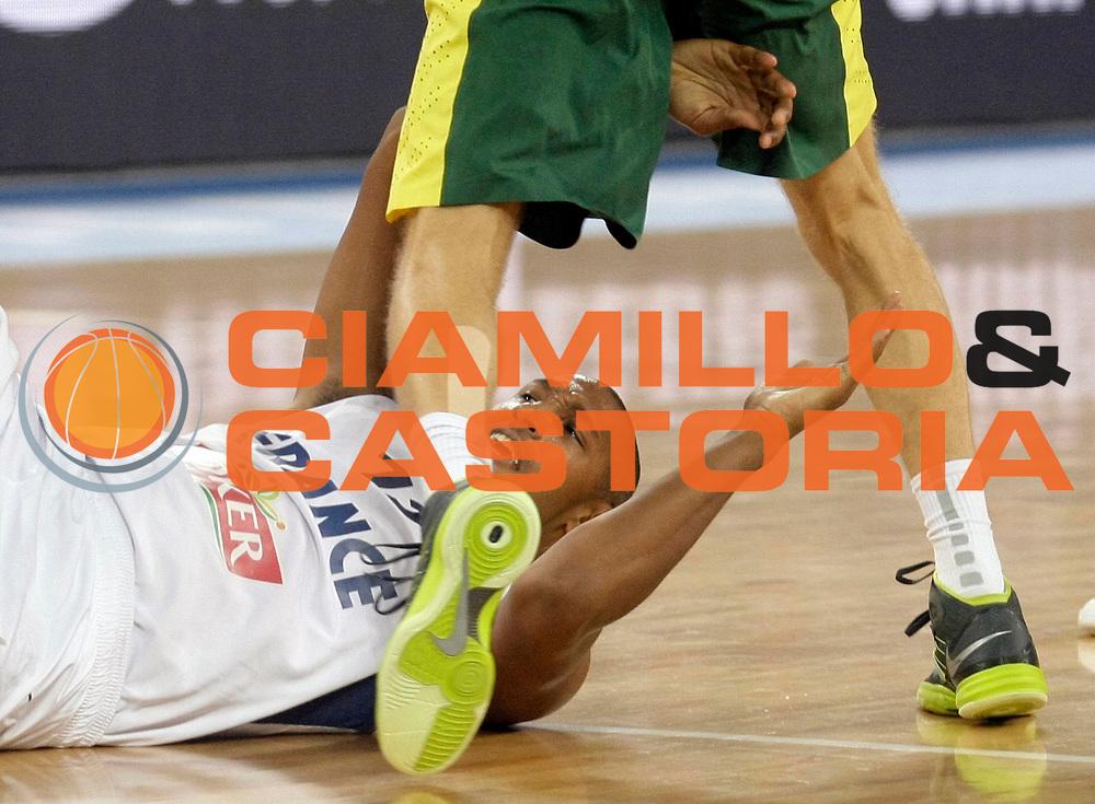DESCRIZIONE : Lubiana Ljubliana Slovenia Eurobasket Men 2013 Finale Final Francia France Lituania Lithuania<br /> GIOCATORE : Boris Diaw<br /> CATEGORIA : ritratto portrait curiosita<br /> SQUADRA : Francia France<br /> EVENTO : Eurobasket Men 2013<br /> GARA : Francia France Lituania Lithuania<br /> DATA : 22/09/2013 <br /> SPORT : Pallacanestro <br /> AUTORE : Agenzia Ciamillo-Castoria/A.Cukic<br /> Galleria : Eurobasket Men 2013<br /> Fotonotizia : Lubiana Ljubliana Slovenia Eurobasket Men 2013 Finale Final Francia France Lituania Lithuania<br /> Predefinita :