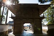 Tempel nummer 29, Kokubun-ji <br /> <br /> Pilgrimsvandring till 88 tempel p&aring; japanska &ouml;n Shikoku till minne av den japanske munken Kūkai (Kōbō Daishi). <br /> <br /> Fotograf: Christina Sj&ouml;gren<br /> Copyright 2018, All Rights Reserved<br /> <br /> Temple 29, Tosa Kokubun-ji (土佐国分寺)  of the Shikoku Pilgrimage, 88 temples associated with the Buddhist monk Kūkai (Kōbō Daishi) on the island of Shikoku, Japan