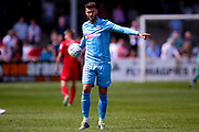 Bolton Wanderers striker Gary Madine (14)  during the Pre-Season Friendly match between Chorley and Bolton Wanderers at Victory Park, Chorley, United Kingdom on 8 July 2017. Photo by Simon Davies.