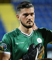 PODGORICA, MONTENEGRO - JUNE 07: Edo Muric of Kosovo before the 2020 UEFA European Championships group A qualifying match between Montenegro and Kosovo at Podgorica City Stadium on June 7, 2019 in Podgorica, Montenegro MB Media
