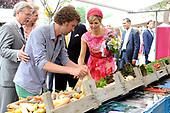 Willem-Alexander en Maxima bezoeken de provincie Flevoland en Overijssel