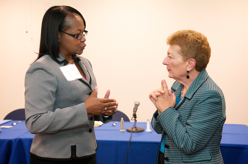 Assistant Secretary for Vocational & Adult Education, Dr. BrendaDann-Messier visits the Western Campus of Cuyahoga County Community College on Wednesday, Sept. 7, 2011.