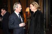 DAVID MONTGOMERY; CAROLINE MICHEL, Celebration of the  200TH Anniversary of the  Birth of Rt.Hon. John Bright MP  and the publication of <br /> ÔJohn Bright: Statesman, Orator, AgitatorÕ by Bill Cash MP. Reform Club. London. 14 November 2011. <br /> <br />  , -DO NOT ARCHIVE-© Copyright Photograph by Dafydd Jones. 248 Clapham Rd. London SW9 0PZ. Tel 0207 820 0771. www.dafjones.com.<br /> DAVID MONTGOMERY; CAROLINE MICHEL, Celebration of the  200TH Anniversary of the  Birth of Rt.Hon. John Bright MP  and the publication of <br /> 'John Bright: Statesman, Orator, Agitator' by Bill Cash MP. Reform Club. London. 14 November 2011. <br /> <br />  , -DO NOT ARCHIVE-© Copyright Photograph by Dafydd Jones. 248 Clapham Rd. London SW9 0PZ. Tel 0207 820 0771. www.dafjones.com.
