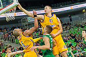 07122012 - Basketball Union Olimpija defeated Khimki Russia