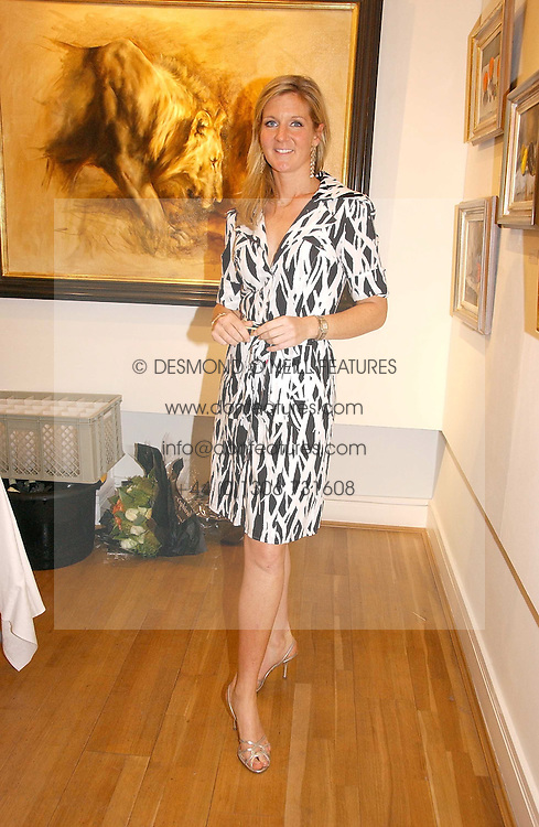 Artist SAM SOPWITH at an exhibition of art by Sam Sopwith held at 27 Cork Street, London W1 on 23rd May 2006.<br /><br />NON EXCLUSIVE - WORLD RIGHTS