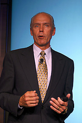 Hewlett-Packard's chief financial officer Robert P. Wayman has been appointed  interim chief executive officer after current CEO Carly Fiorina's was forced out Wednesday, Feb. 9, 2005.  Wayman is shown here during a May 2002 press conference.  Photo by Kim Kulish