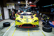 June 12-17, 2018: 24 hours of Le Mans. 95 Aston Martin Racing, Aston Martin Vantage, Nicki Thiimm Marco Sorensen, Darren Turner