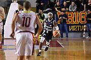 Jazzmarr Ferguson<br /> Unicusano Roma - Angelico Biella<br /> Campionato Basket LNP 2016/2017<br /> Roma 29/01/2017<br /> Foto Ciamillo-Castoria