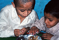 Pakistan, Karachi, 2004. At an Edhi Home for Boys, the lost and the forsaken find a life away from the street.