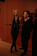 Elle Macpherson and David Furnish, MOVE FOR AIDS HOSTED BY ELLE MACPHERSON & DAVID FURNISH. Koko, Camden High St. London. 7/11/06. ONE TIME USE ONLY - DO NOT ARCHIVE  © Copyright Photograph by Dafydd Jones 66 Stockwell Park Rd. London SW9 0DA Tel 020 7733 0108 www.dafjones.com