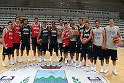Roseto degli Abruzzi, 19/05/2008<br /> Basket, Ritiro Nazionale Italiana Maschile<br /> Nella foto: team italia<br /> Foto Ciamillo