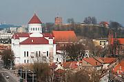 View of Vilnius Skyline, Spring 2011