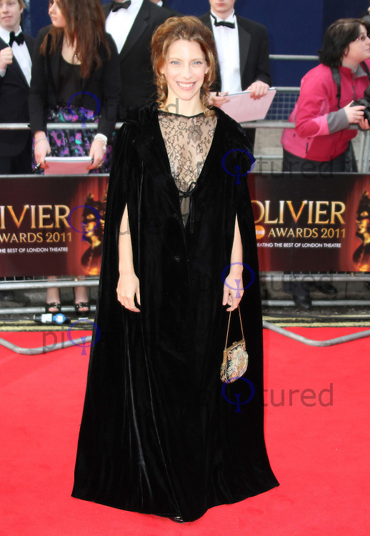 Elena Roger The Olivier Awards 2011, Theatre Royal Drury Lane, London, UK, 13 March 2011:  Contact: Ian@Piqtured.com +44(0)791 626 2580 (Picture by Richard Goldschmidt)