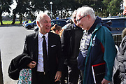 Bournemouth chairman Jeff Mostyn talks to fans as he arrives at the Vitality Stadium before the Premier League match between Bournemouth and Manchester City at the Vitality Stadium, Bournemouth, England on 2 March 2019.