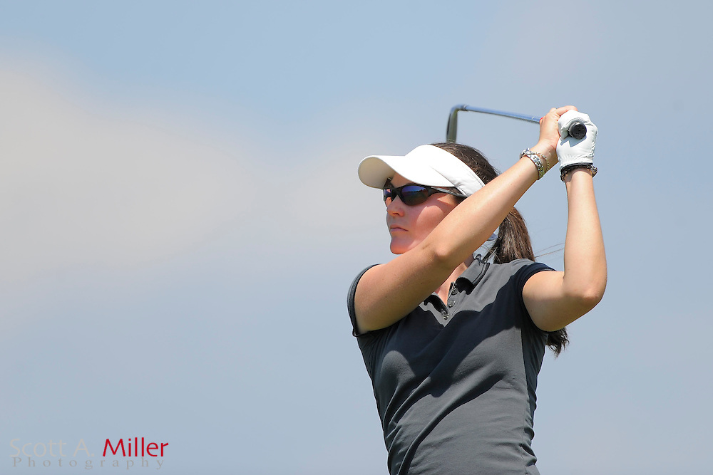 Leanne Bowditch during the second round of the LPGA Futures Tour's Daytona Beach Invitational at LPGA International's Championship Course on April 2, 2011 in Daytona Beach, Florida... ©2011 Scott A. Miller