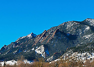 Views of the Front Range near Boulder, Colorado