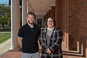 Dustin Grooms, Janet Simon, College of Health Sciences and Professions, research, Perspectives Magazine, Students