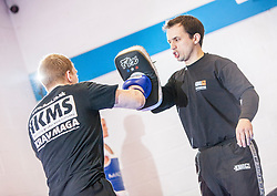 KMG instructor Jon Bullock takes the KMG Instructor Update today at SMAC, Alloa.<br /> &copy; Michael Schofield.
