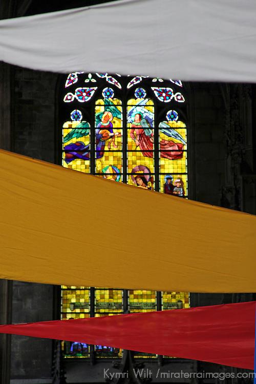 Europe, France, Lille,  Saint Maurice Church.