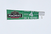 24/05/15 SCOTTISH PREMIERSHIP<br /> CELTIC v INVERNESS CT<br /> CELTIC PARK - GLASGOW <br /> A plane flies over Celtic Park as Magners congratulate the club on winning the Scottish Premiership<br /> ** IMAGE IS FREE FOR USE ON MONDAY 25/05/15 **