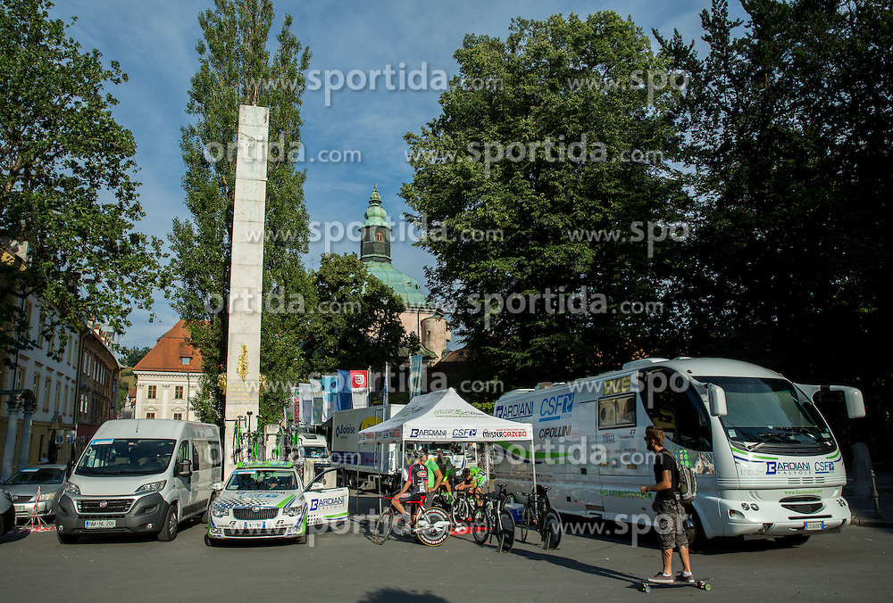 Team CSF during Stage 1 of 22nd Tour of Slovenia 2015 - Time Trial 8,8 km cycling race in Ljubljana  on June 18, 2015 in Slovenia. Photo by Vid Ponikvar / Sportida