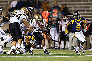 10 October 2009:   Toledo's Austin Dantin (4) during the NCCA football game between Western Michigan and the Toledo Rockets at The Galss Bowl in Toeldo, Ohio.