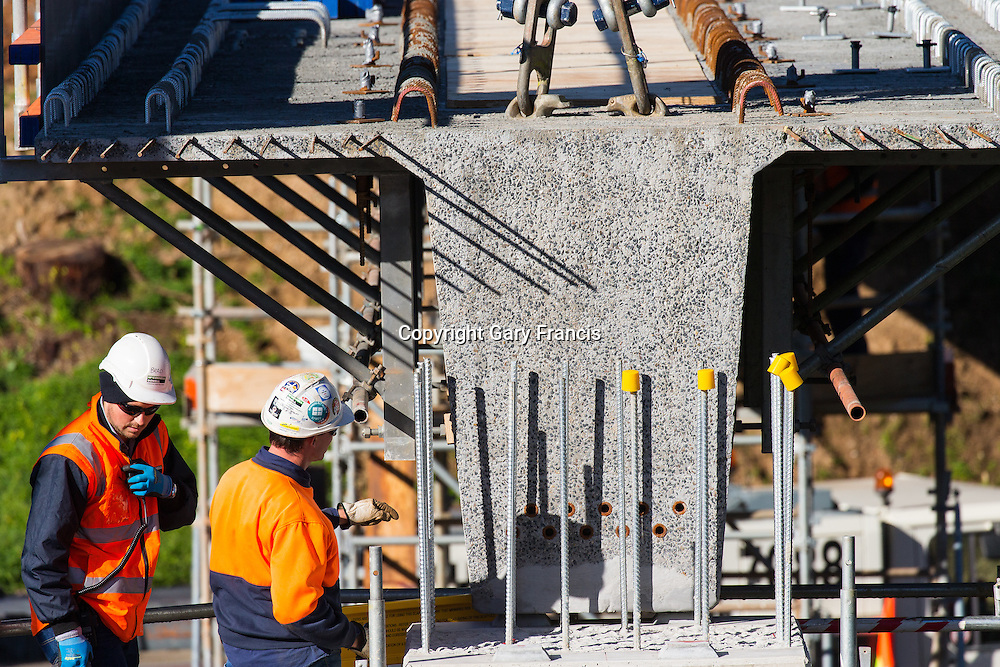 O-Bahn City Access Project construction by MacDow, Adelaide, Australia - images taken 16 July 16