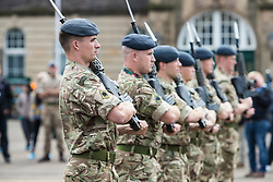 The Princess Royal, Princess Anne attended the final rehearsal of the Royal Edinburgh Military Tattoo at Redford Barracks in Edinburgh.