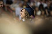 Gonzaga undergraduate commencement at Spokane Arena in Spokane, Wash. (Photo by Rajah Bose)
