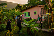 Seminarians walk to class at Concordia Reformer Lutheran Seminary and Mercy Center in Palmar Arriba, Dominican Republic, on Wednesday, Oct. 18, 2017. LCMS Communications/Erik M. Lunsford
