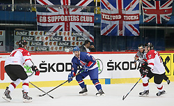 20.04.2016, Dom Sportova, Zagreb, CRO, IIHF WM, England vs Litauen, Division I, Gruppe B, im Bild MOSEY Evan. // during the 2016 IIHF Ice Hockey World Championship, Division I, Group B, match between Great Britain and Lithuania at the Dom Sportova in Zagreb, Croatia on 2016/04/20. EXPA Pictures © 2016, PhotoCredit: EXPA/ Pixsell/ Dalibor Urukalovic<br /> <br /> *****ATTENTION - for AUT, SLO, SUI, SWE, ITA, FRA only*****