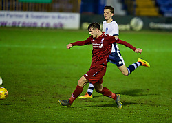 BURY, ENGLAND - Wednesday, March 6, 2019: Liverpool's Bobby Duncan scores the fifth goal during the FA Youth Cup Quarter-Final match between Bury FC and Liverpool FC at Gigg Lane. (Pic by David Rawcliffe/Propaganda)