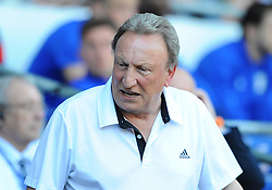Cardiff City manager Neil Warnock- Mandatory by-line: Nizaam Jones/JMP - 21/04/2019 -  FOOTBALL - Cardiff City Stadium - Cardiff, Wales -  Cardiff City v Liverpool - Premier League