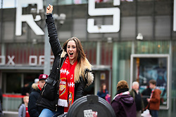 Arsenal fans arrive at Emirates Stadium - Mandatory byline: Jason Brown/JMP - 07966386802 - 09/01/2016 - FOOTBALL - Emirates Stadium - London, England - Arsenal v Sunderland - The Emirates FA Cup