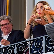 NLD/Amsterdam/20150926 - Afsluiting viering 200 jaar Koninkrijk der Nederlanden, Edwin de Vries en Claudia Straatmans