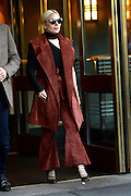Nov. 3, 2015 - New York, NY, USA - <br /> Lady Gaga leaving her apartment  in New York City<br /> ©Exclusivepix Media