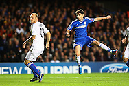 Picture by Daniel Chesterton/Focus Images Ltd +44 7966 018899<br /> 18/09/2013<br /> Oscar of Chelsea scores his side's first goal during the UEFA Champions League match at Stamford Bridge, London.