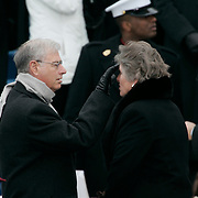 Presidential Inauguration 2005- GEORGE W. BUSH.Washington, DC.01/20/2005.West Front - US Capitol.Karen Hughes and Husband..Photo by Khue Bui..