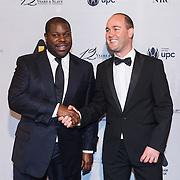 NLD/Amsterdam\/20131028 -Opening Amsterdam Film Week 2013, premiere 12 Years a Slave, Regisseur Steve McQueen en directeur Fulko Kuindersma