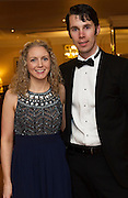 At the SCSI, (Society of Chartered Surveyors Ireland) - Western Region Annual Dinner 2016 in the Ardilaun Hotel Galway were Olivia Ryan and Ed Maher, Stewart Construction, Galway . Photo:Andrew Downes, xpousre
