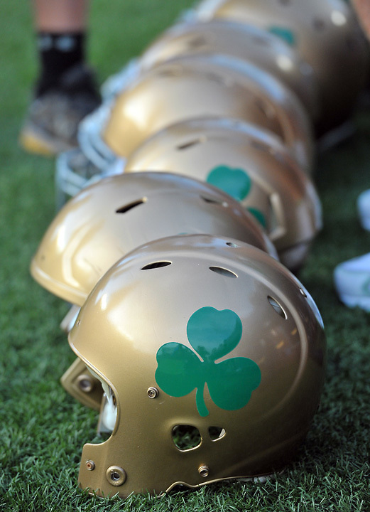 "The ND ""throwback"" helmets"