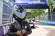 Formula E mascot during Round 9 of Formula E, Battersea Park, London, United Kingdom on 2 July 2016. Photo by Martin Cole.